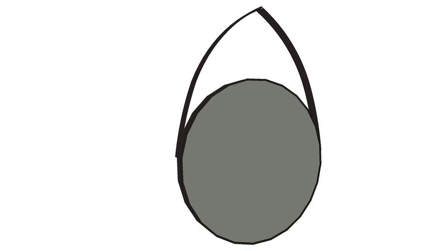 Espelho com alça Sierra