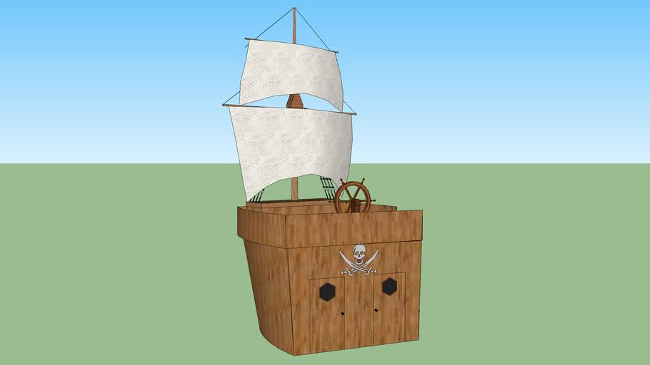 Peter Pan Pirate Ship 3