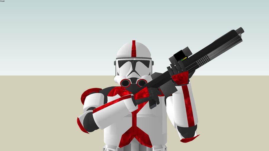 Basic Clone Trooper of the 307th Legion