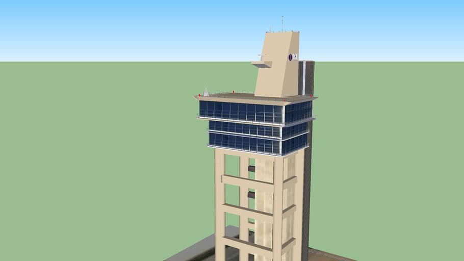 Torre del nuevo espolón (Torre de control bahia de algeciras)