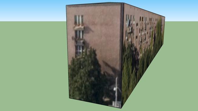 Gebäude in Warszawa, Polen
