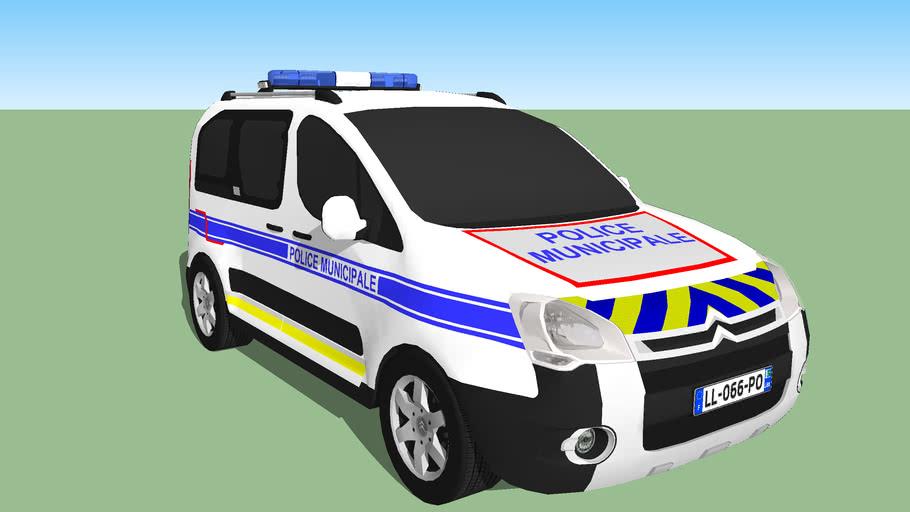 Citroen Berlingo Police Municipale 3d Warehouse