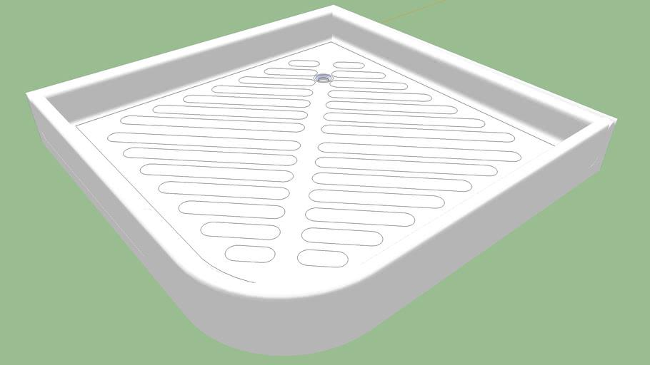 Plato de ducha 70x70 cm.