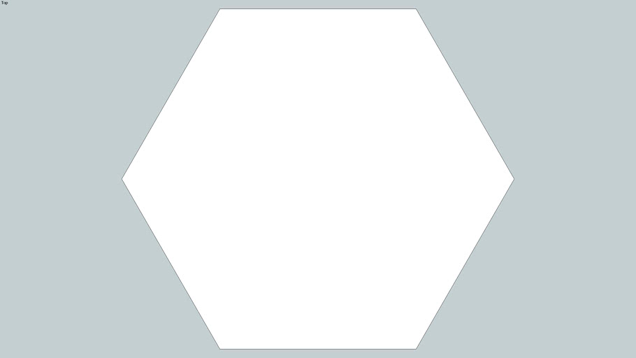 Field - 4 Inch Hexagon