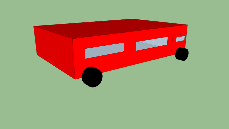 small red bus