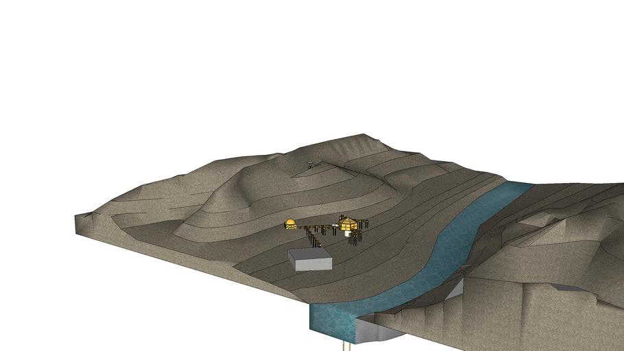 space mining base