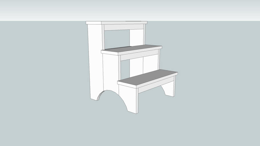 Shaker Step Stool from Popular Woodworking November 2007 Issue