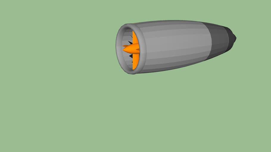 Simple Jet Engine