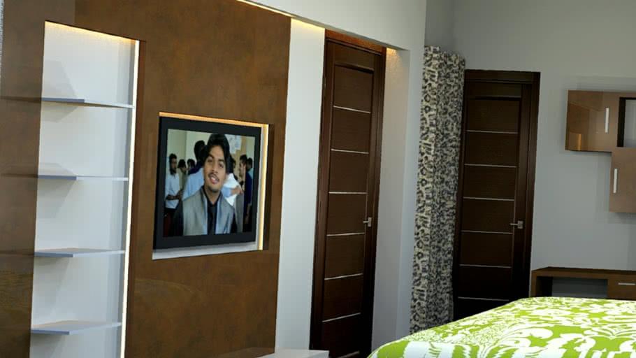 Modern Bedroom Interior 3d Warehouse