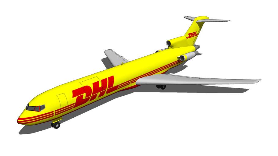 Boeing 727-200F DHL Global