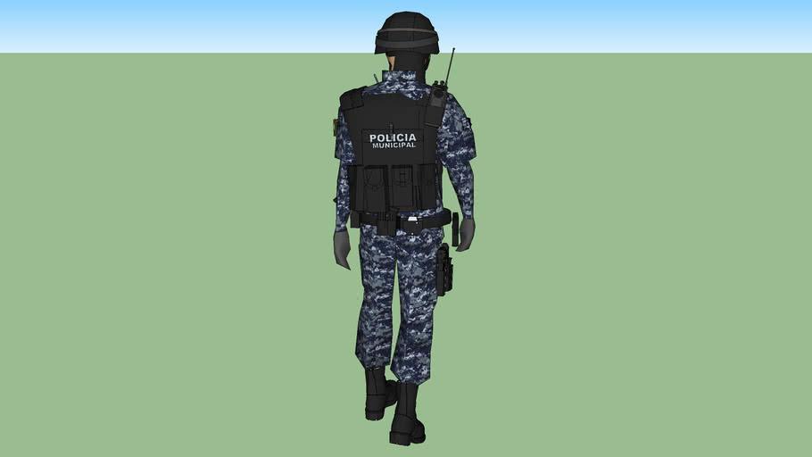 POLICIA MUNICIPAL NUEVO UNIFORME TACTICO SWAT