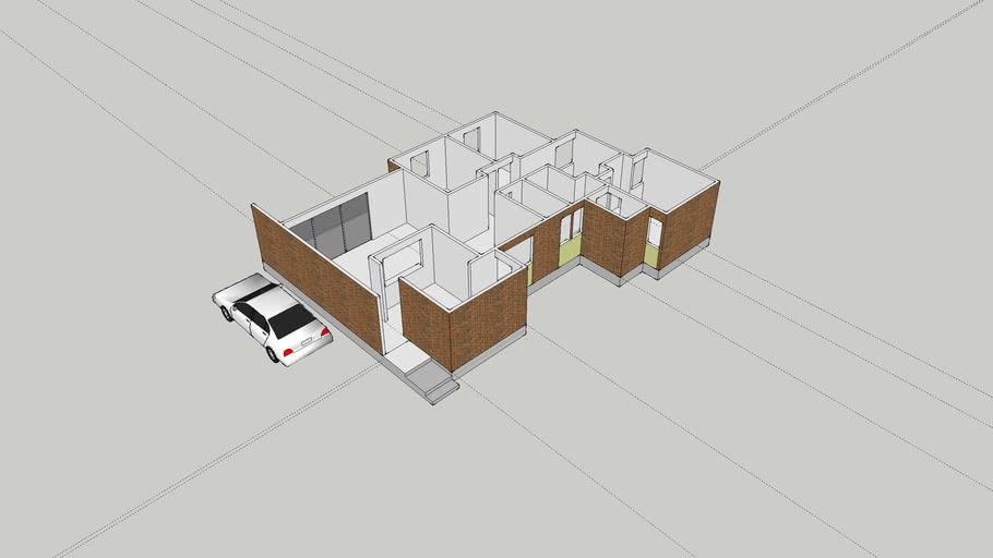 Diseño Casa Estilo Apartamento