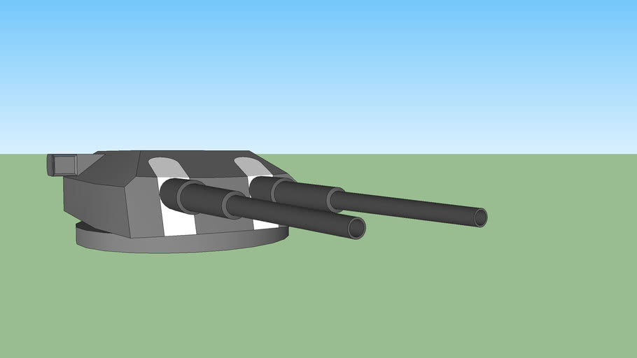 heavy ship cannon