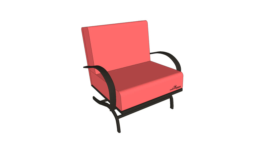 Chat Chair - Papaya