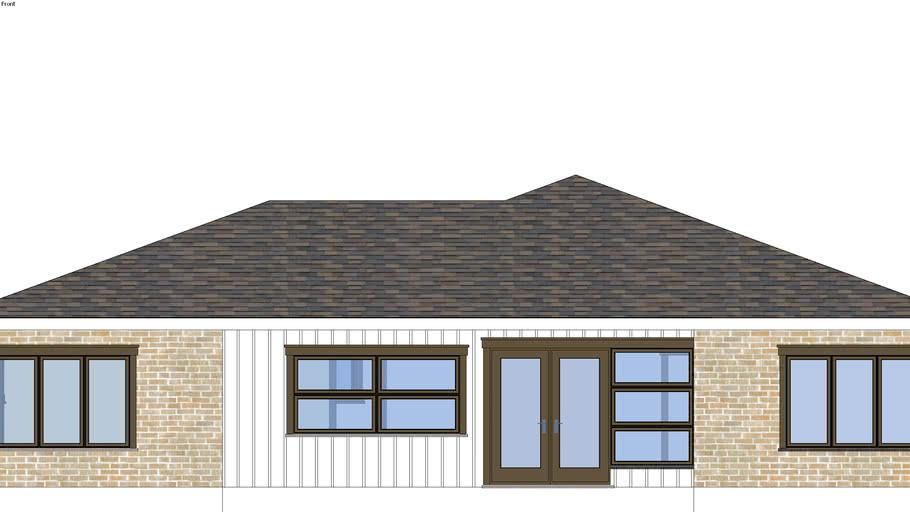 1700 Square Foot bungalo