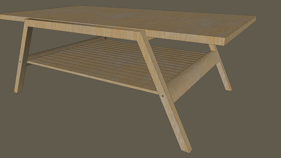 Lillberg Coffee Table By Ikea 3d Warehouse