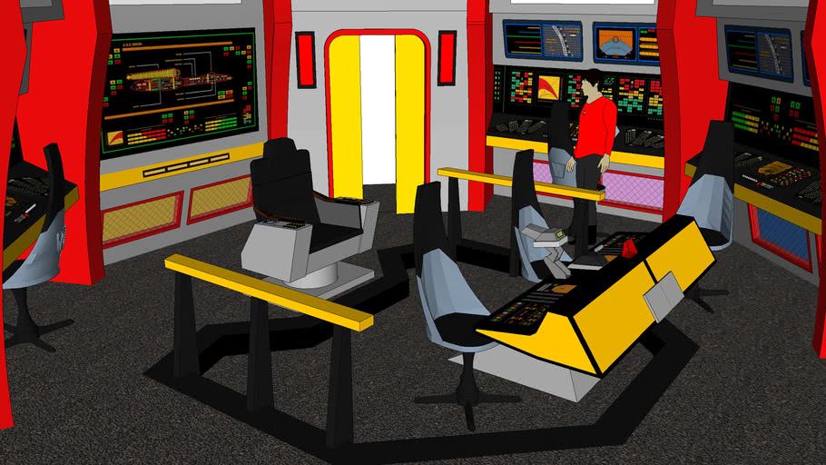 Star Trek TOS Era Bridge: USS Zanzibar