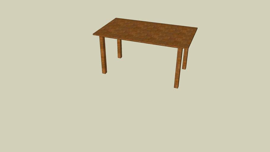 Simple Table, einfacher Tisch