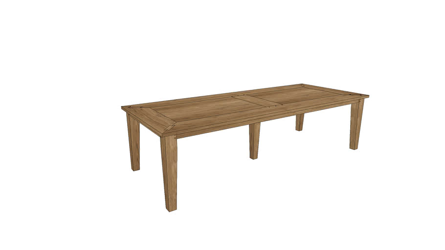 CM108, Cambridge Dining Table 300x120cm