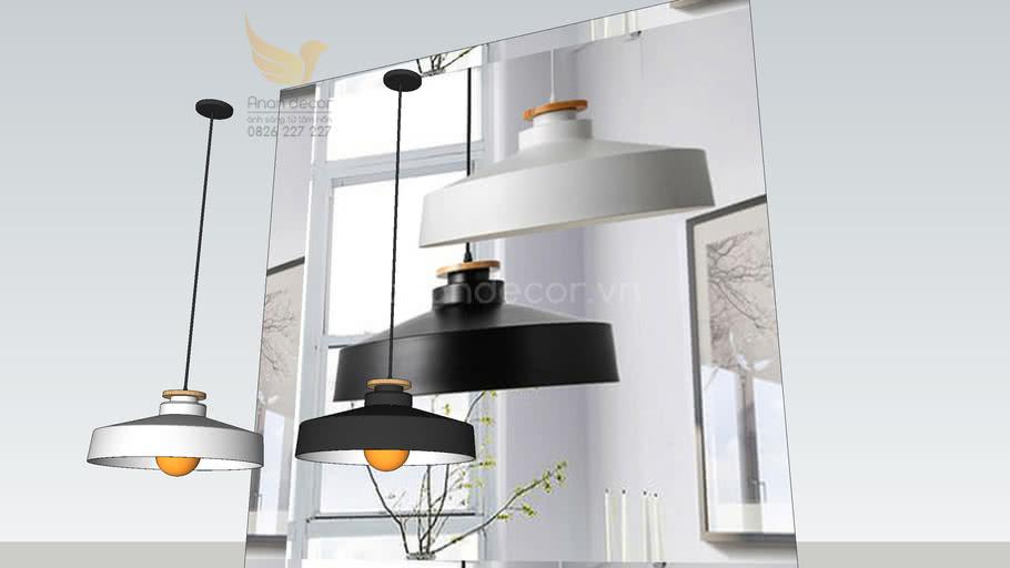Đèn thả chao đuôi gỗ hiện đại DT-8209 ( Modern Hanging Lighting)
