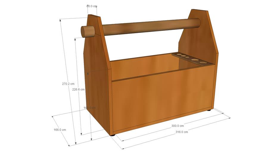 Holz Werkzeug Kiste bauen