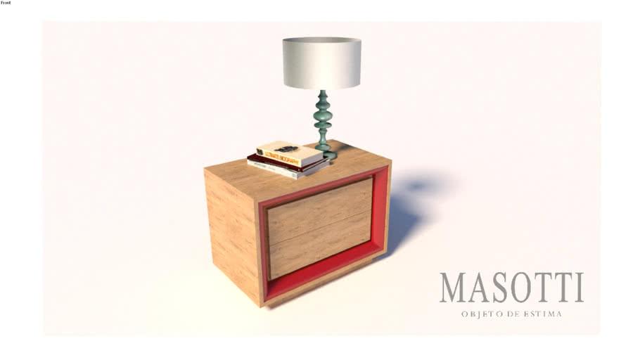 Mesa de Cabeceira Coleção Masotti MAS.323.1 F15