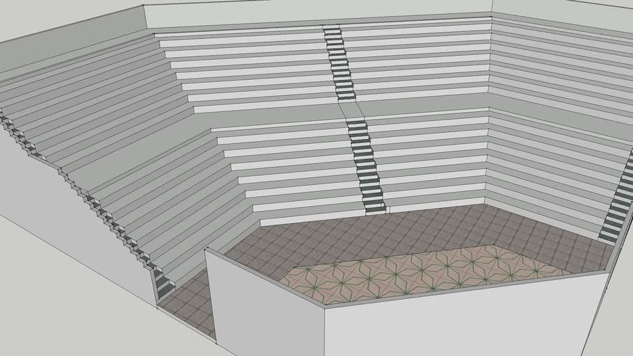 Open-air theatre design