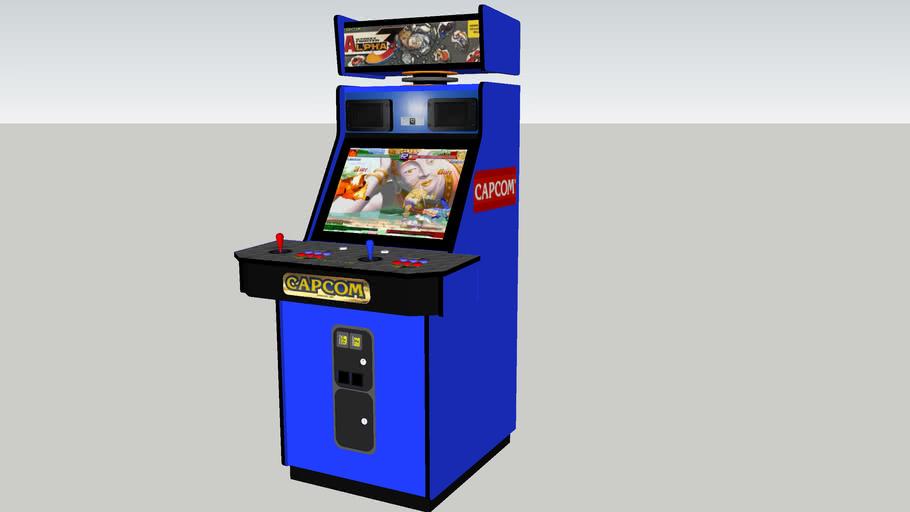 Street Fighter Alpha 3 Arcade Game 3d Warehouse