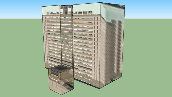 此建築物位於 〒162-8830
