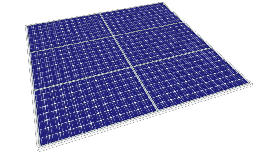 Scalable Solar Panel Array