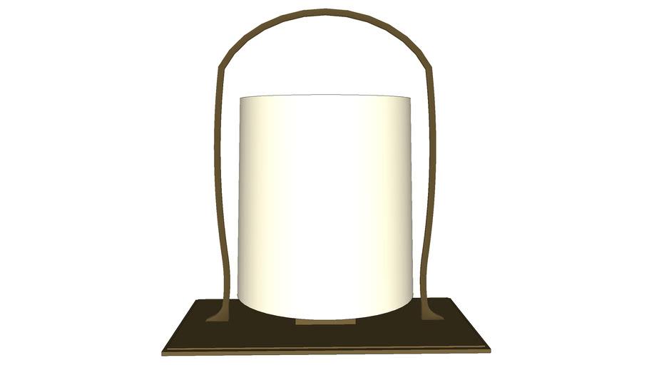 Lampe de table avec base laiton