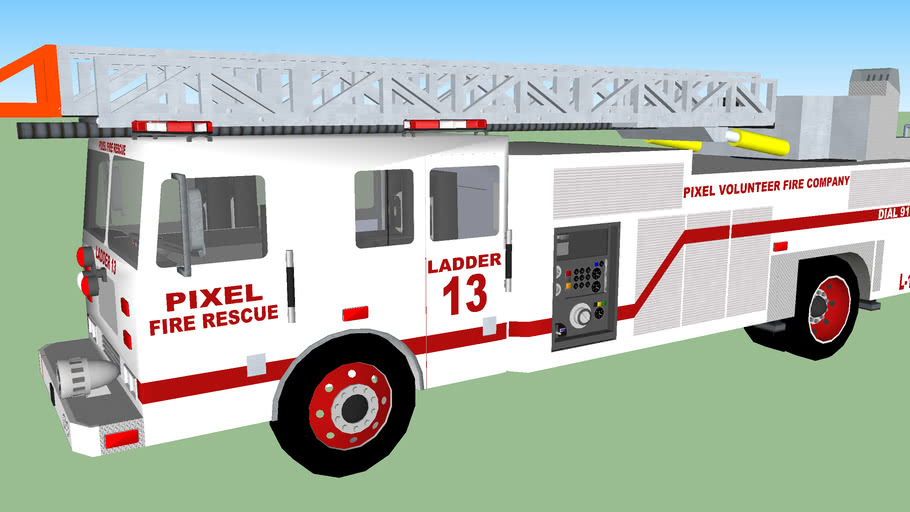 PIXEL FIRE RESCUE LADDER 13