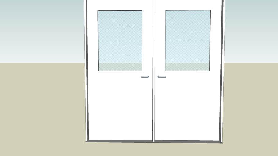 cafeteria doors