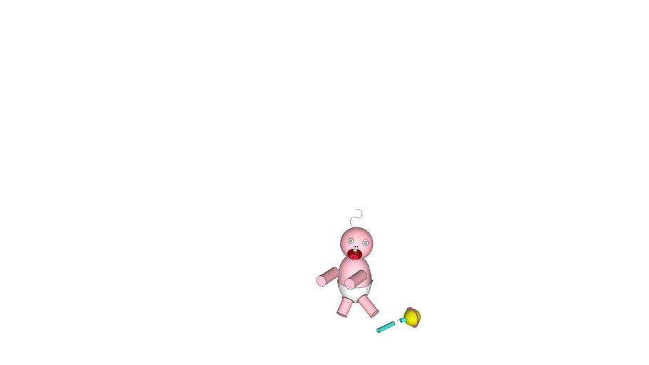 Baby wa wa poo poo