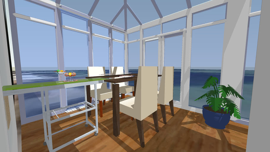 Conservatory design edwardian and victorian combination