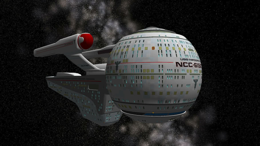 Olympic Class Starship - USS Hipocrates - NCC 61507