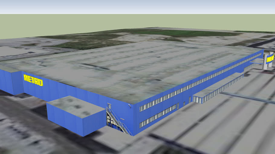 Metro C C Zagreb Jankomir 3d Warehouse