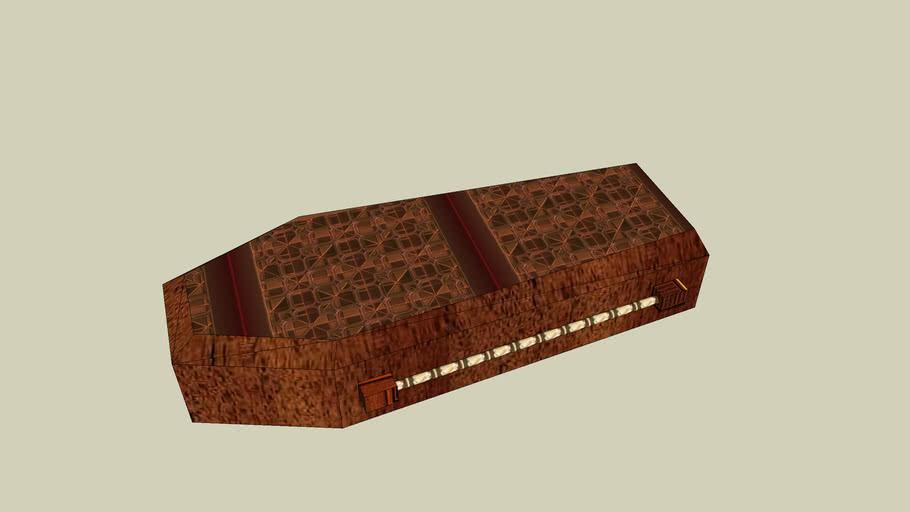 closed coffin