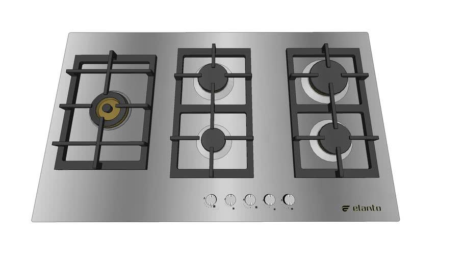 Cooktop Elanto Professionale - 90cm - Lateral
