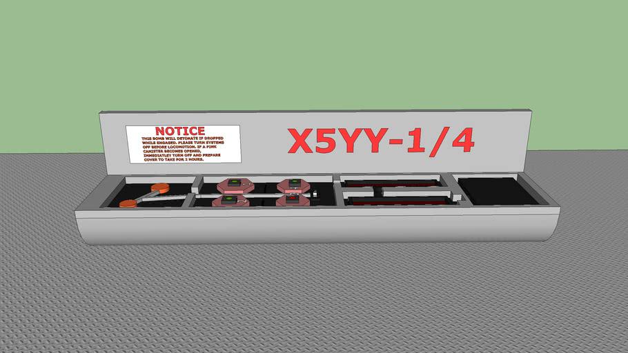 (Opened) X5 Bomb