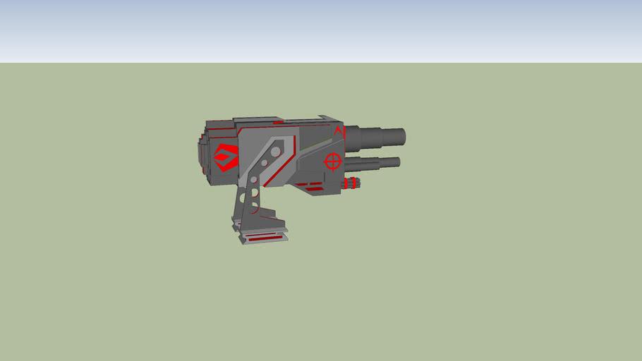 Battlebot V1 Red (hellfire)