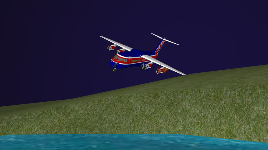 UK Air Flight 230 {6Mb}