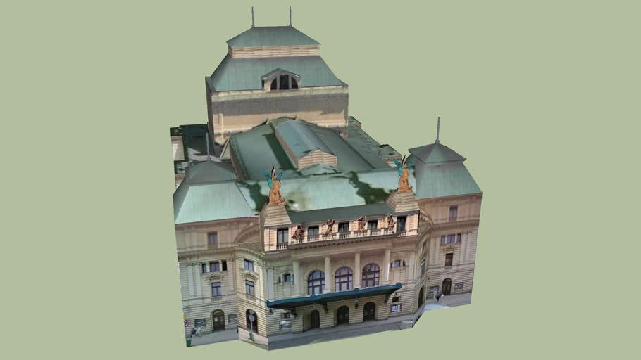 Divadlo Na Vinohradech, Prague