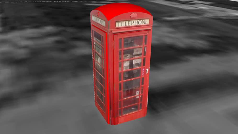 Telephone box #4, Cam
