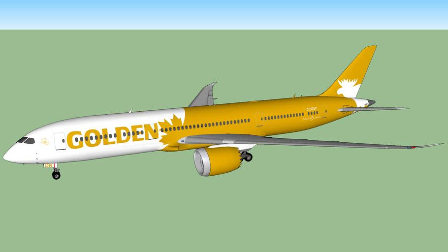 Golden Moose Airways 787-9 Dreamliner (2016)