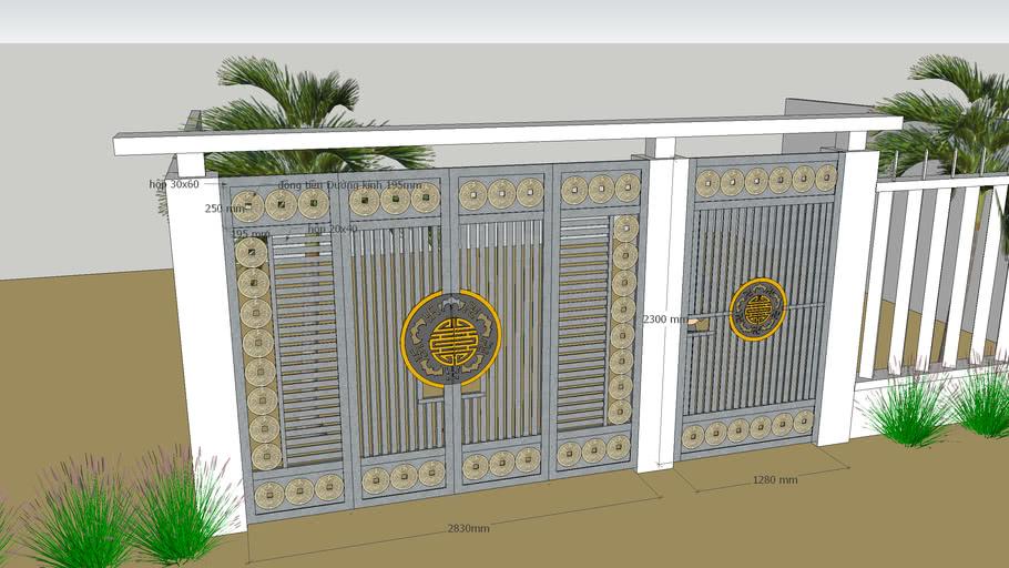 cửa cổng dơi- by Lê Sơn