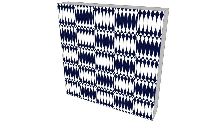 Quadro Alexandre Mancini - Coleção Navy Blue 06