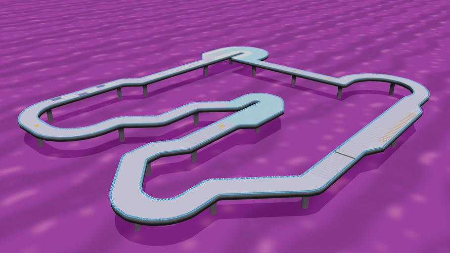 Snes F Zero White Land 1 Mario Kart Wii Custom Track Version 1