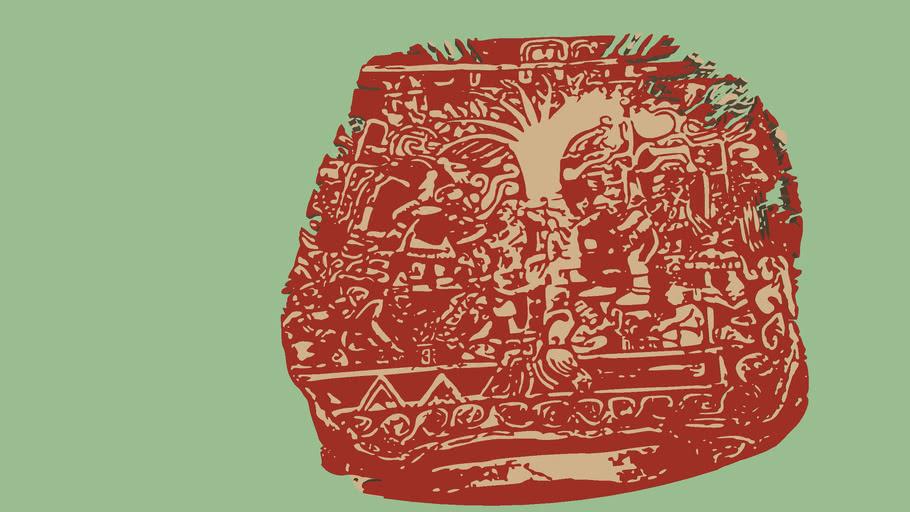 EstelaNo.5 de Izapa arbol de la vida Maya
