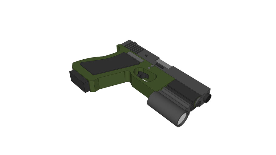 Glock 21 - Navy Green Frame (Tactical)